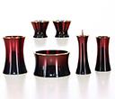 陶器 仏具セット マロン