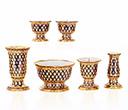 陶器 仏具セット ベンジャロン
